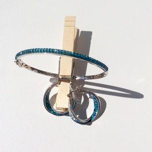 Austrian Crystal Bracelet and earring set